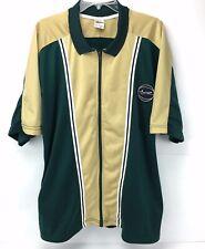 Vintage Nike Warm Up Shirt Jacket Basketball Shooting Jersey Size Xl Gold Green