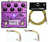 New Eventide Rose Modulated Delay Guitar Effects Pedal