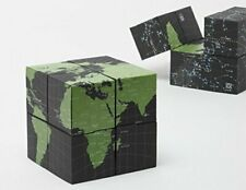 Geografia EARTH & SKY TWISTABLE GLOBE eight cubes from Japan F/S New