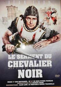 DVD - LE SERMENT DU CHEVALIER NOIR / ALAN LADD, PATRICIA MEDINA, COLUMBIA, NEUF