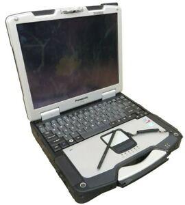 "Panasonic Toughbook CF-30F Mk2 13"" Rugged Laptop 1.6GHz Core 2 Duo 500GB SSHD"