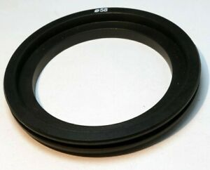 58mm to 75mm OD Plastic filter holder adapter ring step-up