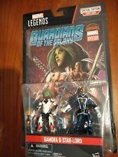 Marvel Legends Special Edition Gamora & Starlord With Comic Book