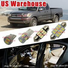 9-pc White Deluxe LED Interior Lights Package Kit for Toyota Tundra 2000-2004