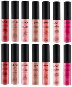 NYX Soft Matte Lip Cream All New 34 Shades *Pick Your Color*
