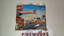 2014 Shell LEGO V-Power Oil Finish Line New Sealed Bag 40194 In Hand USA SELLER