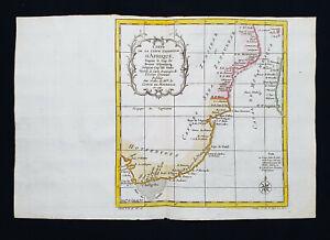 1754 J.N. BELLIN: AFRICA, MOZAMBIQUE, TANZANIA, MALAWI, ZAMBIA, ZIMBABWE