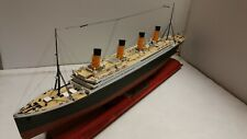 1/400 scale Academy DELUXE RMS Titanic ship model-  BUILT- FREE SHIP