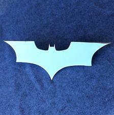 Grill Badge Emblem Billet Batman Logo Aluminum High Luster Polished