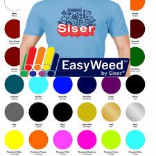 30 Sheets Siser Easyweed Heat Transfer Vinyl Bundle 15x12 Assorted