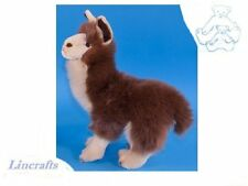 Brown Llama  Plush Soft Toy by Dowman Soft Touch.28cm RB306