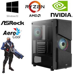 Gaming PC - AMD Ryzen 5 3600, 6x 4,2GHz - 16GB RAM - 512GB SSD + 1TB HDD