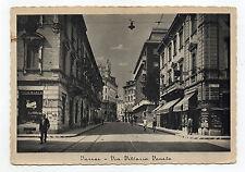 CARTOLINA 1941 VARESE VIA VITTORIO VENETO RIF 1509/A