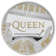 2020 QUEEN Band BU United Kingdom 2 pounds one ounce silver coin UK 1 oz proof