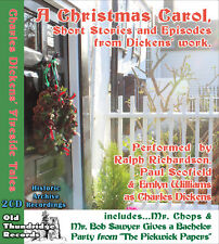 Charles Dickens Fireside Tales 2 2x CD Christmas Carol, Short Stories & Episodes