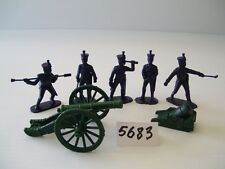 Armies In Plastic 5683 - Nap. Wars - French Artillery  French 6 Pounder & Mortar
