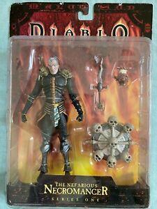 ToyCom Diablo Nefarious Necromancer Series One Mint Action Figure 2004