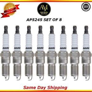 Platinum Spark Plugs AP5245 Set of 8 for  Chevrolet Silverado 1500 GMC