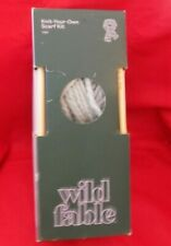 Wild Fable Knit Your Own Scarf Kit Gray Craft Kits New
