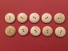 16mm Bottoni Osso (confezione da 10) - Rievocazione, COSTUME, STORIA DI VITA