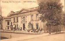 New Haven, CONNECTICUT - Yale University - Woodbridge Hall -  LINEN -  Sepia