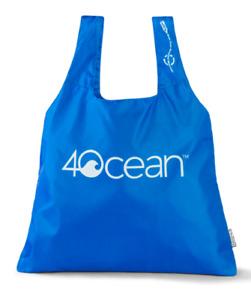 4Ocean ChicoBag, Reusable Shopping Bag, Blue