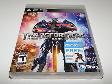 Transformers Rise of the Dark Spark w/ Stinger Character PS3 (PlayStation 3) NEW