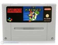 Nintendo SNES Spiel - Super Mario World 1 Modul