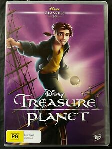 Treasure Planet - DVD - Disney - Animation - Free Postage - Used