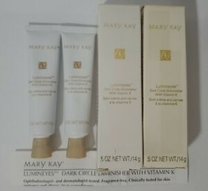 2 Mary Kay Lumineyes Dark Circle Diminsher w/ Vitamin K #0457 DISCONTINUED NOS
