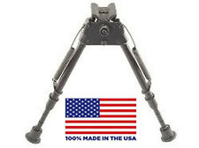 """HBLMS Harris Bipod - Extends from 9"""" to 13"""" - Notched legs - Swivels - LM S"""
