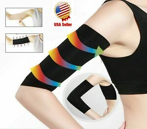 Slimming Arms Compression Sleeves Tone Up Workout Toning Burn Cellulite Shaper
