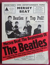 MERSEY BEAT  THE BEGINNINGS OF THE BEATLES LIVRE EO OMNIBUS 1977