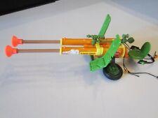 TMNT 1989 Teenage Mutant Ninja Turtles Double Barreled Plunger Gun