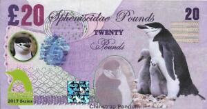 2017 Penguin Series - CHINSTRAP PENGUIN - 20 Spheniscidae Pounds