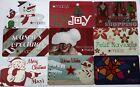 9 Macy`s Department Store Christmas New Year Empty Gift Cards Collectible Lot For Sale