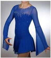 Brand New Ice Figure Skating Dress Baton Twirling Dress  customized size