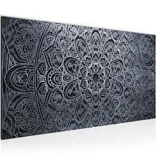 Bild Bilder Wandbild XXL 100x40 cm Mandala - Kunstdruck Leinwand Vlies - Wohnung