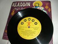 "Aladdin And His Magic Lamp Jimmy Kingsbury Rosemary Mann 7"" Vinyl EP Dandy S2"