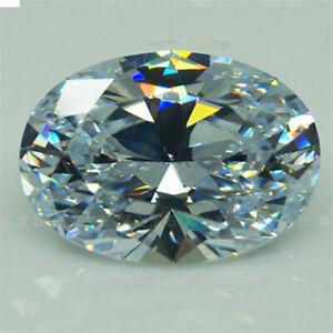 15*20mm HUGE Unheated 56.58ct VVS White Sapphire Oval Cut AAAA+ Loose Gemstone~