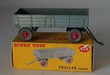 Dinky 428 - Large Trailer - Grey - in Original Box