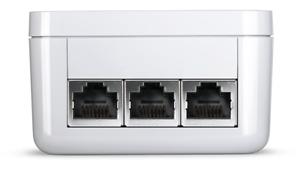 Devolo Power LAN dLAN 1200 triple+ Starter Kit, Set aus 2 Adaptern