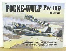Focke-Wulf Fw 189 in Action by George Punka & Don Greer 1993