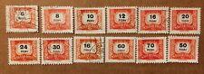 Magyar old stamps lot