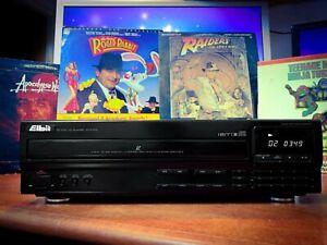 ELBIT (Kenwood) ELD-610 Vintage LaserDisc Player + LD Movie Bundle