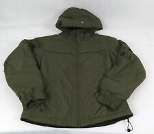 Columbia jacket Hooded woman's sl4080 Nylon olive green Lined & Filled Medium