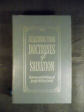Selections From Doctrines Of Salvation (Leather Bound, 2001) Gift Edition LDS