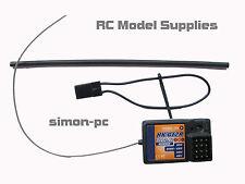 ANSMANN W5 & W6 R5 ABSIMA R3FS FLYSKY TURNIGY compatible 3CH 2.4Ghz récepteur! UK