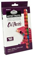 12 Taglia Grande Olio Pastelli Colore Pigmento Artista Disegno & Set da OILPA612