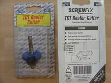 """TCT Router Cutter Bit. Roman Ogee With Bearing. 1/4"""""""